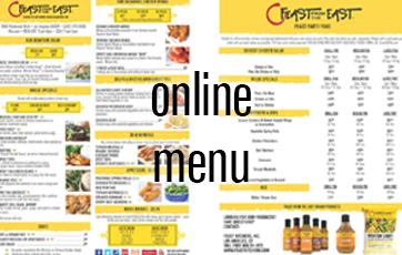 Online Menu - Feast From The East